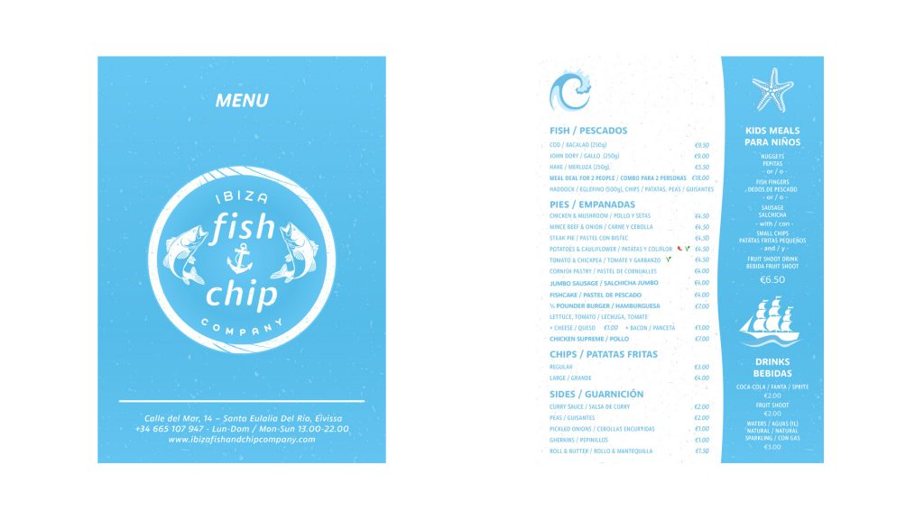 Ibiza Fish and Chip Company Screen