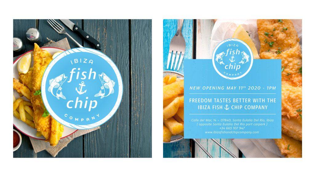 Ibiza Fish and Chip Company Social Posts
